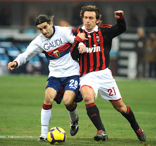 Prediksi Skor AC Milan vs Genoa 14 April 2012