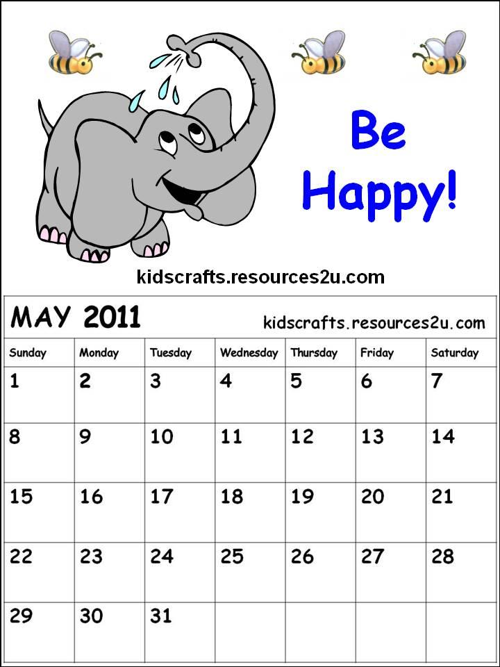 may 2011 calendar page. Printable Calendar 2011 May