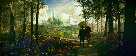 James Franco e Mila Kunis em OZ: MÁGICO E PODEROSO (Oz the Great and Powerful)