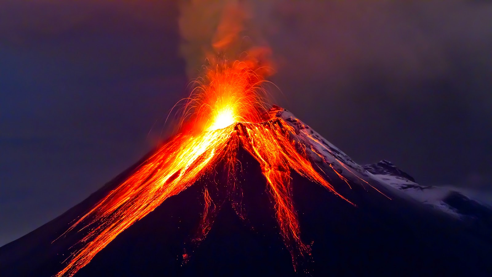 An Erupting volcano Image courtesy: www.fastcoexist.com