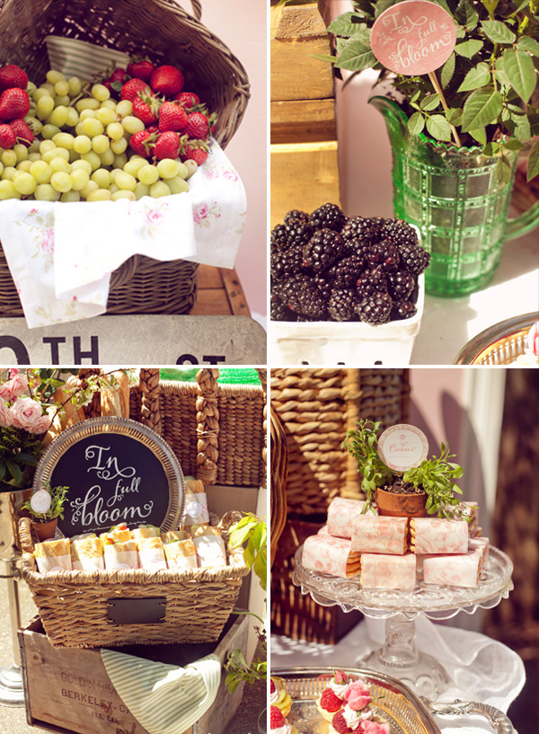 Rivernorthlove french garden bebe shower for French inspired party food