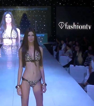Leopárd mintás bikini - 2013 bikini divat