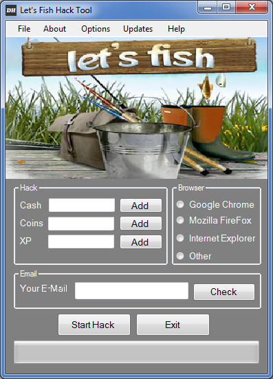 Let's fish Hack Tool v.1.1.4