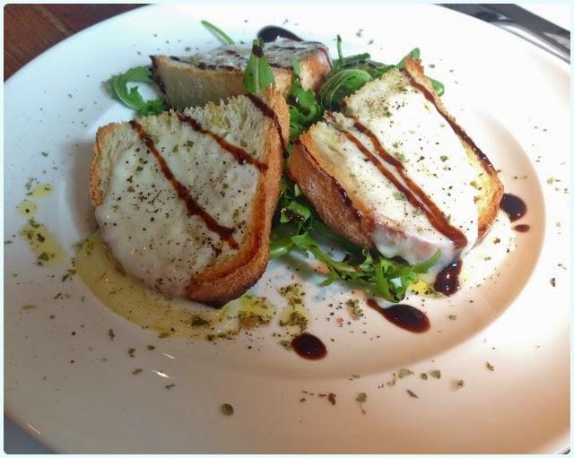 Salvi's Cucina, Manchester - Bruschetta