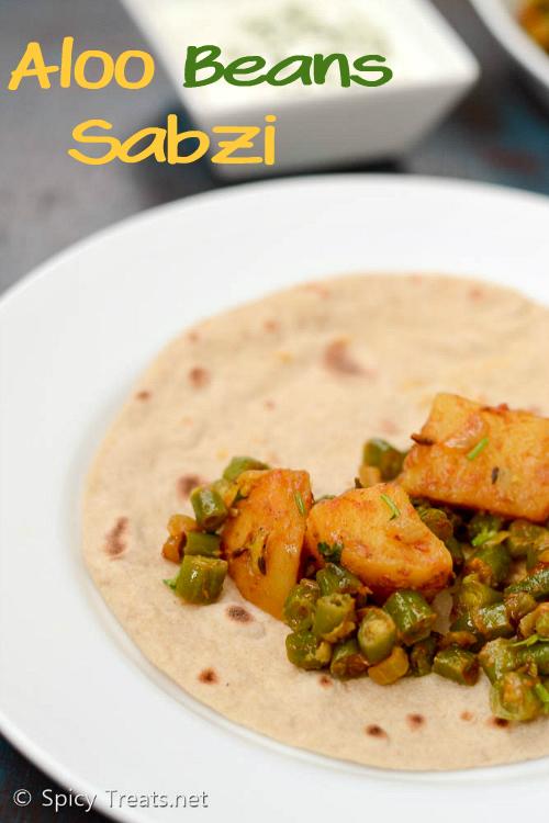 Potato Beans Sabzi