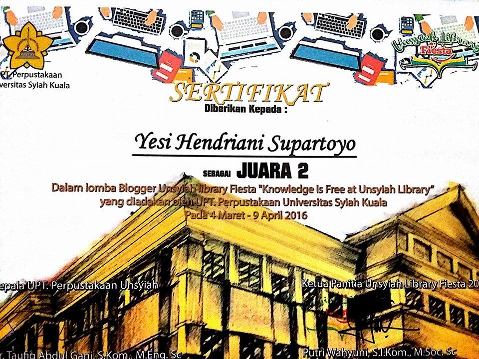 2nd Winner Univ. Syiah Kuala Aceh