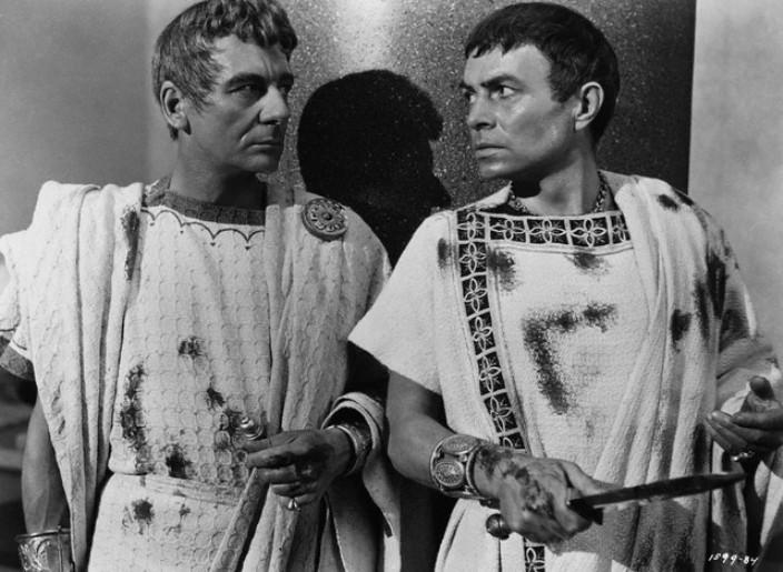 antony vs cassius The art of swaying a hostile crowd: marc antony's funeral oration  the three  main conspirators in caesar's murder, brutus, casca and cassius portrayed.