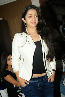 Actress Charmi Kaur Pictures in Jeans at One by Two Movie Celetes 20 Years Event 0121