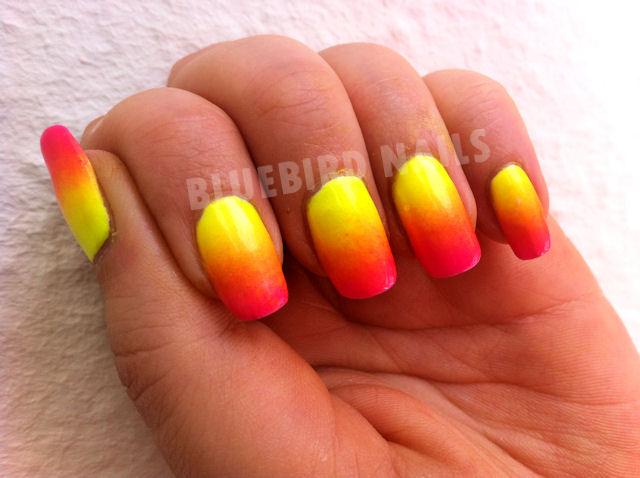 gradiant china glaze summer neons