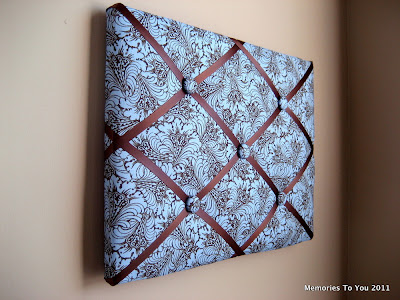 French fabric memory board