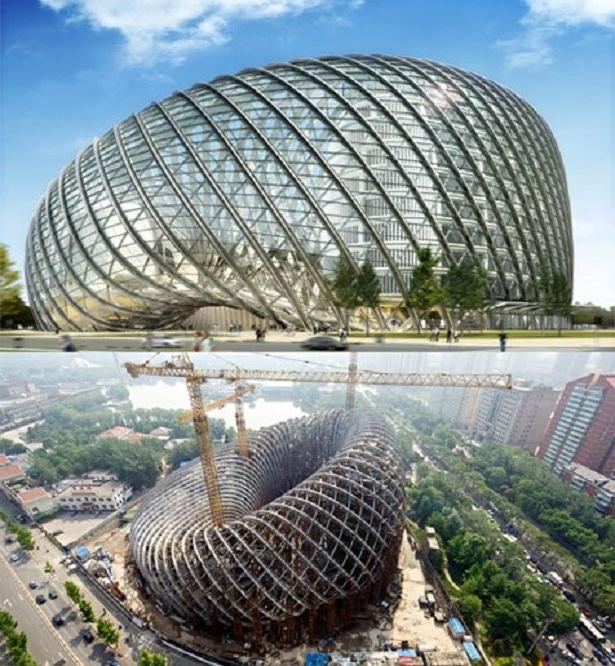 Trung tâm báo chí quốc tế Phượng Hoàng ở Bắc Kinh (Trung Quốc)