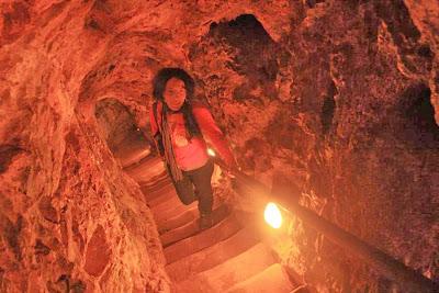 Gruta Iris in Monasterio de Piedra