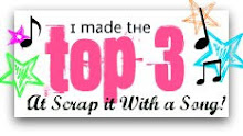 In de top 3 van Scrap it with a Song!
