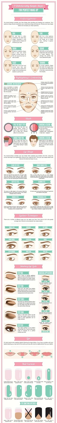 9 Unbelievably Simple Steps for Perfect Makeup