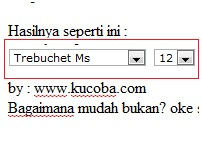 Widget Change This Font Otomatis