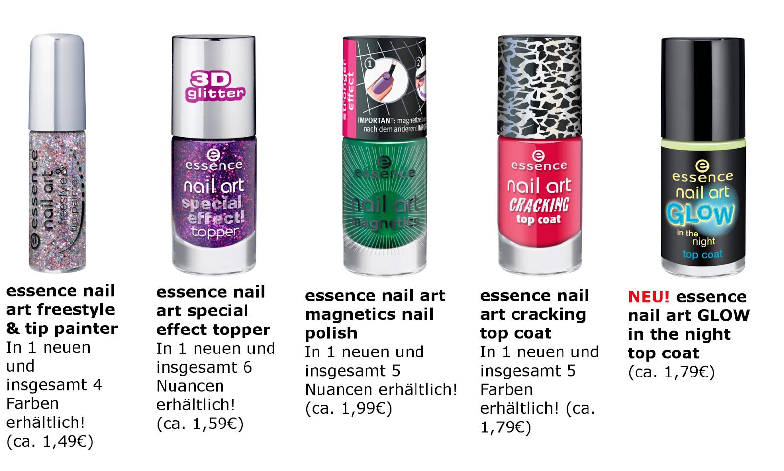 essence Neuheiten Herbst 2013