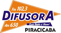 ouvir a Rádio Difusora FM 102,3 Piracicaba SP