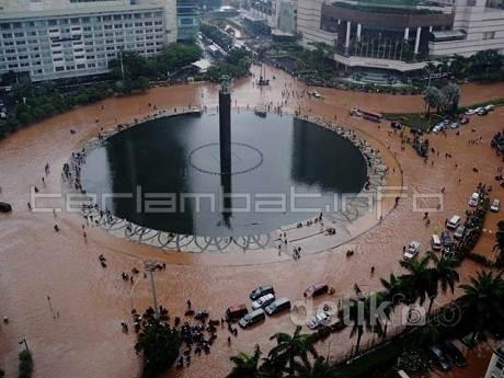 Foto Banjir Jakarta 2013