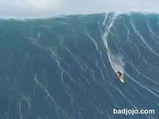 World tallest wave surfed