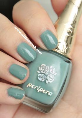 Peripera nail polish GR309 - Modern green
