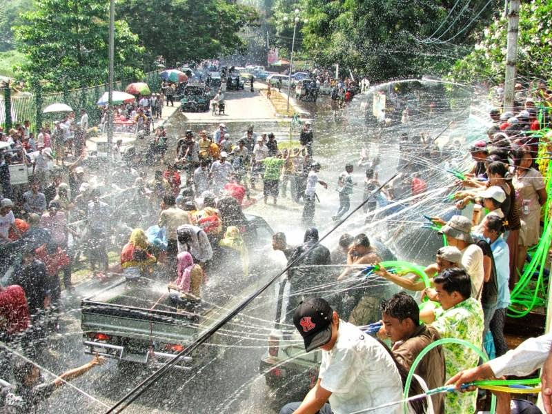 Myanmar Water Festival Essays