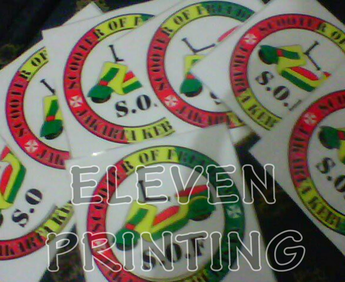Percetakan Sticker