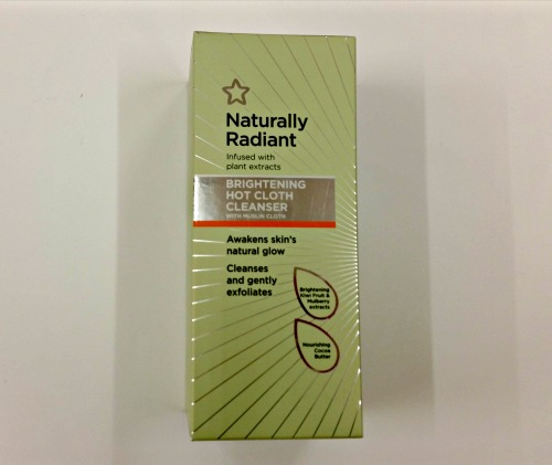 A photo of naturally radiant hot cloth cleanser
