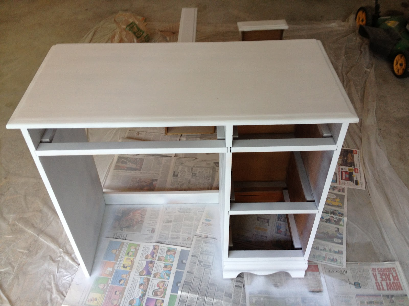 After The Pieces Have Been Primed I Used The Rustoleum Painter's . Full resolution  image, nominally Width 1600 Height 1200 pixels, image with #36271B.