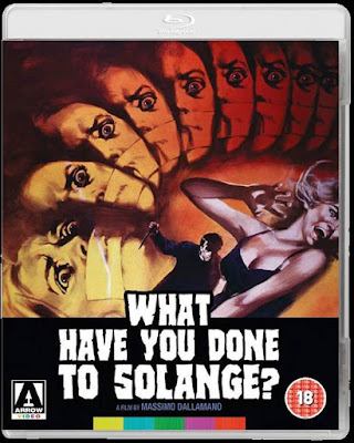 What Have You Done to Solange? Blu-ray cover