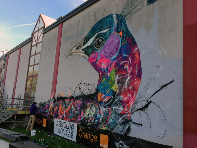 Street Art By L7M For Goodbye Monopole 2 Festival In Luxembourg City, Luxembourg. 3