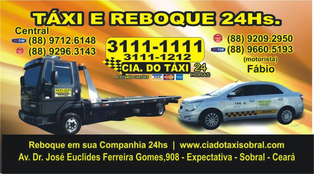 CIA DO TÁXI E REBOQUE