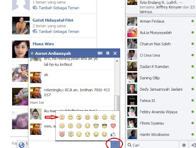 Smile Chat Facebook terbaru 2012