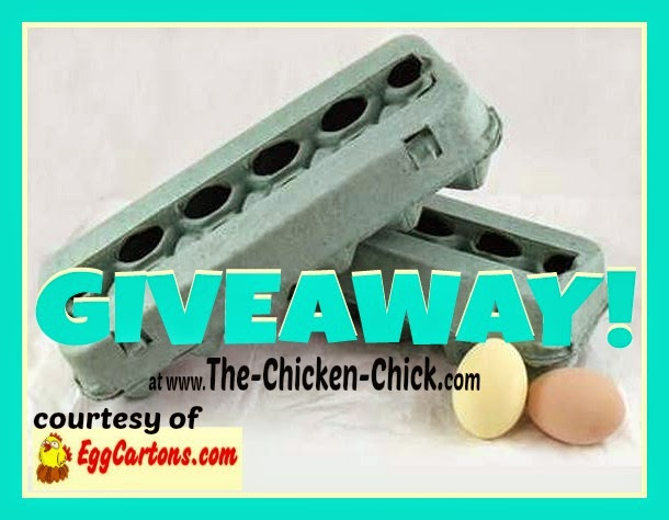 EggCartons.com giveaway at The Chicken Chick
