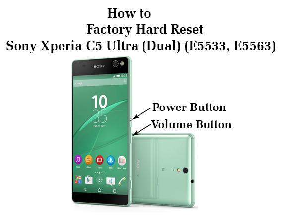 Как сделать хард ресет sony xperia z ultra