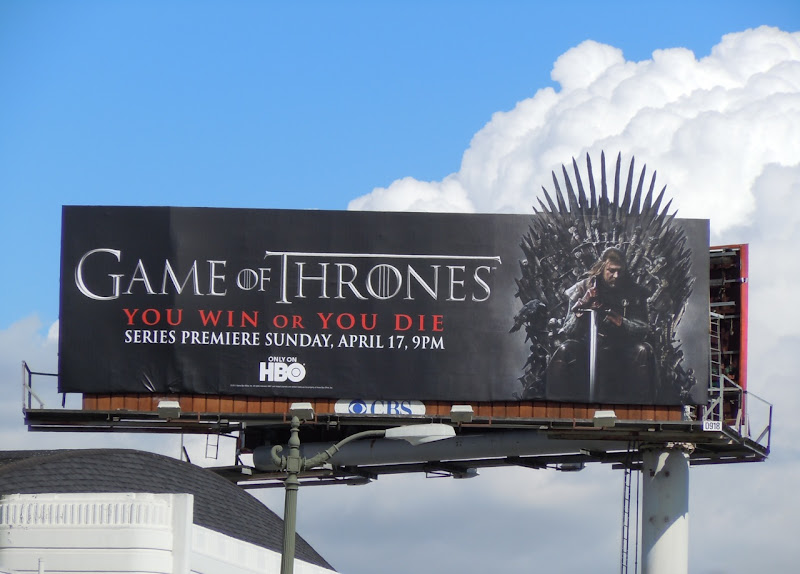 Game of Thrones HBO billboard