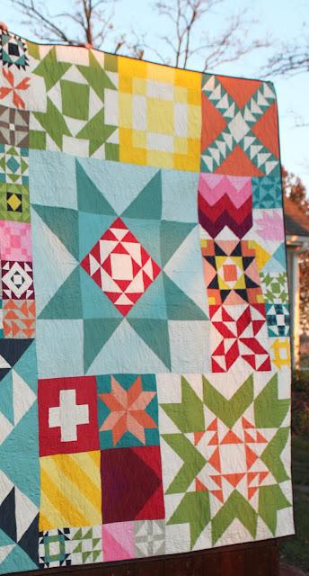 Moda Building Block Quilt