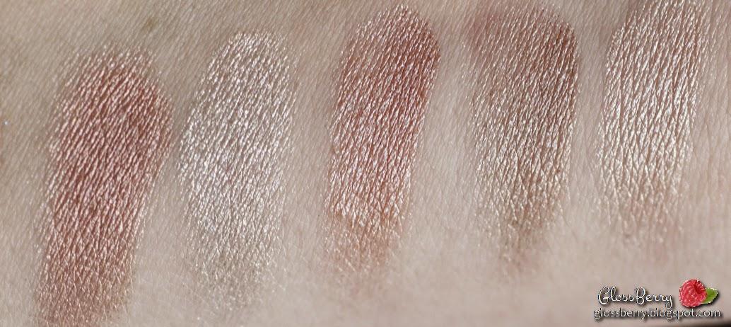 bobbi brown shimmer brick eyes palette sequin gold pink taupe brown gray review swatches בובי בראון פלטה צלליות לעיניים  גלוסברי בלוג איפור וטיפוח