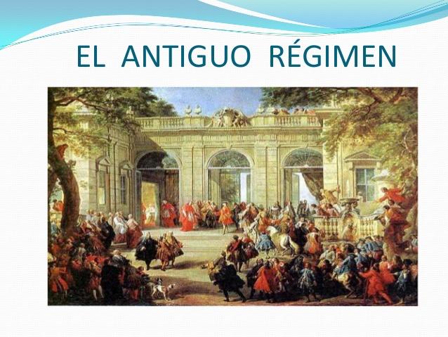 TEMA nº 1: Antiguo Régimen - Siglo XVIII