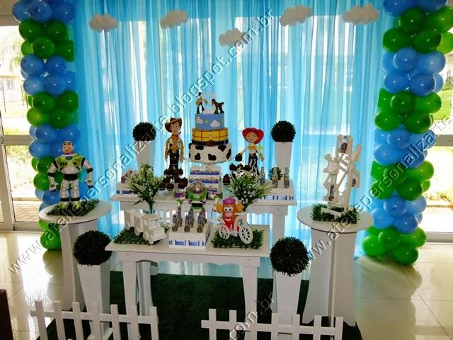 decoracao festa toy story : Decora??o de festa infantil Toy Story