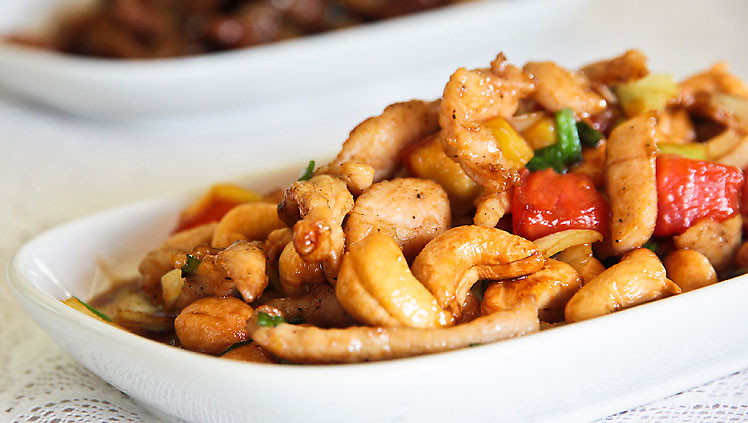 ... : Gai Pad Med Mamuang Himmapan (Stir-fried Chicken with Cashew Nuts
