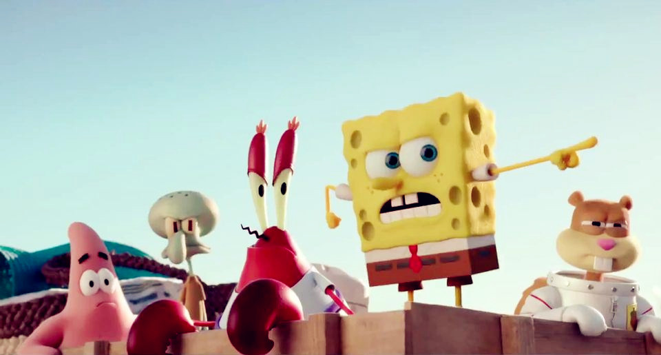 Sinopsis Film Animasi The SpongeBob Movie: Sponge Out Of Water