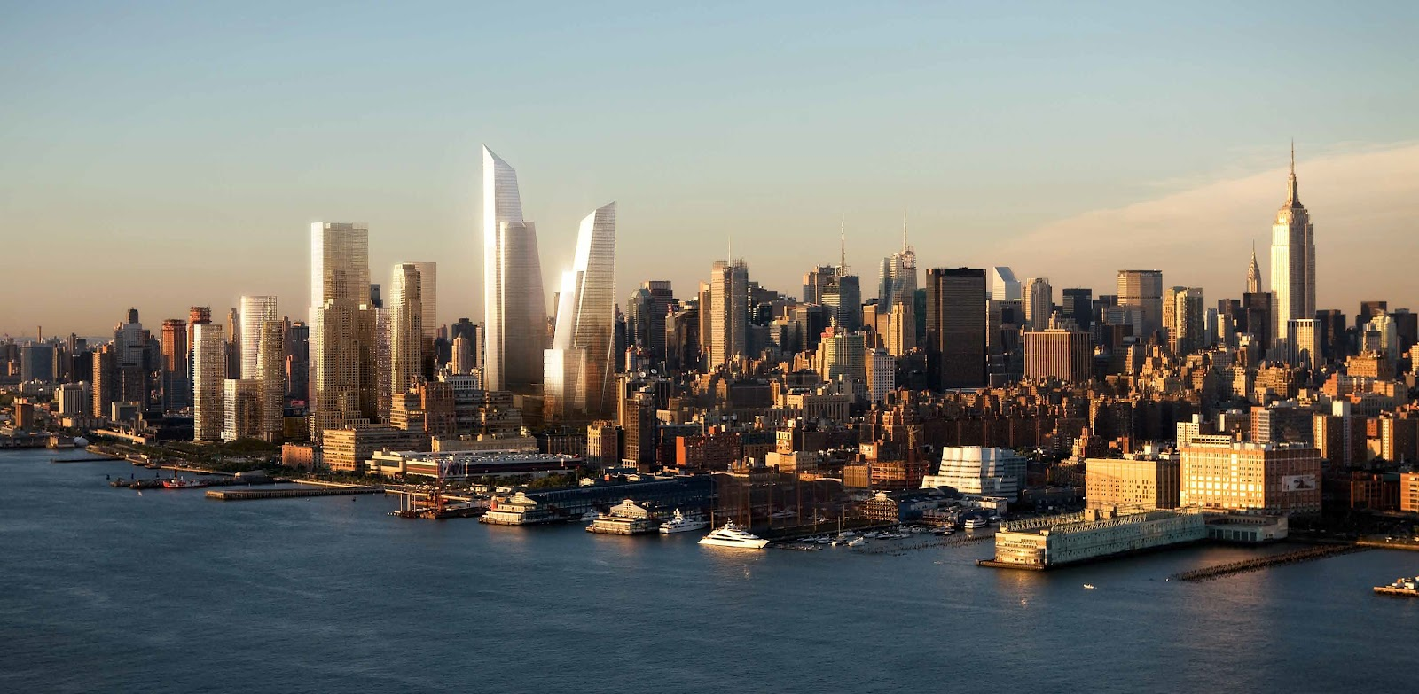 New york hudson yards phase ii 300m 984ft pro for How far is hudson ny from nyc