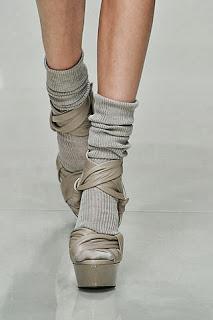 Sandalo con calzino (Bruberry)