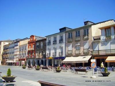 Plaza Mayor Villafranca Bierzo, Leon