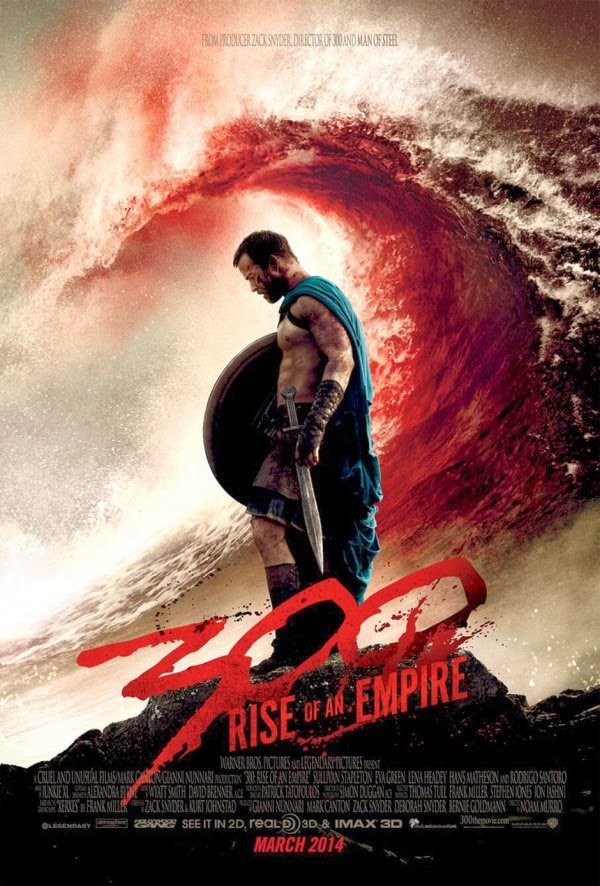 Blood and good action go into the 'Rise of an Empire'
