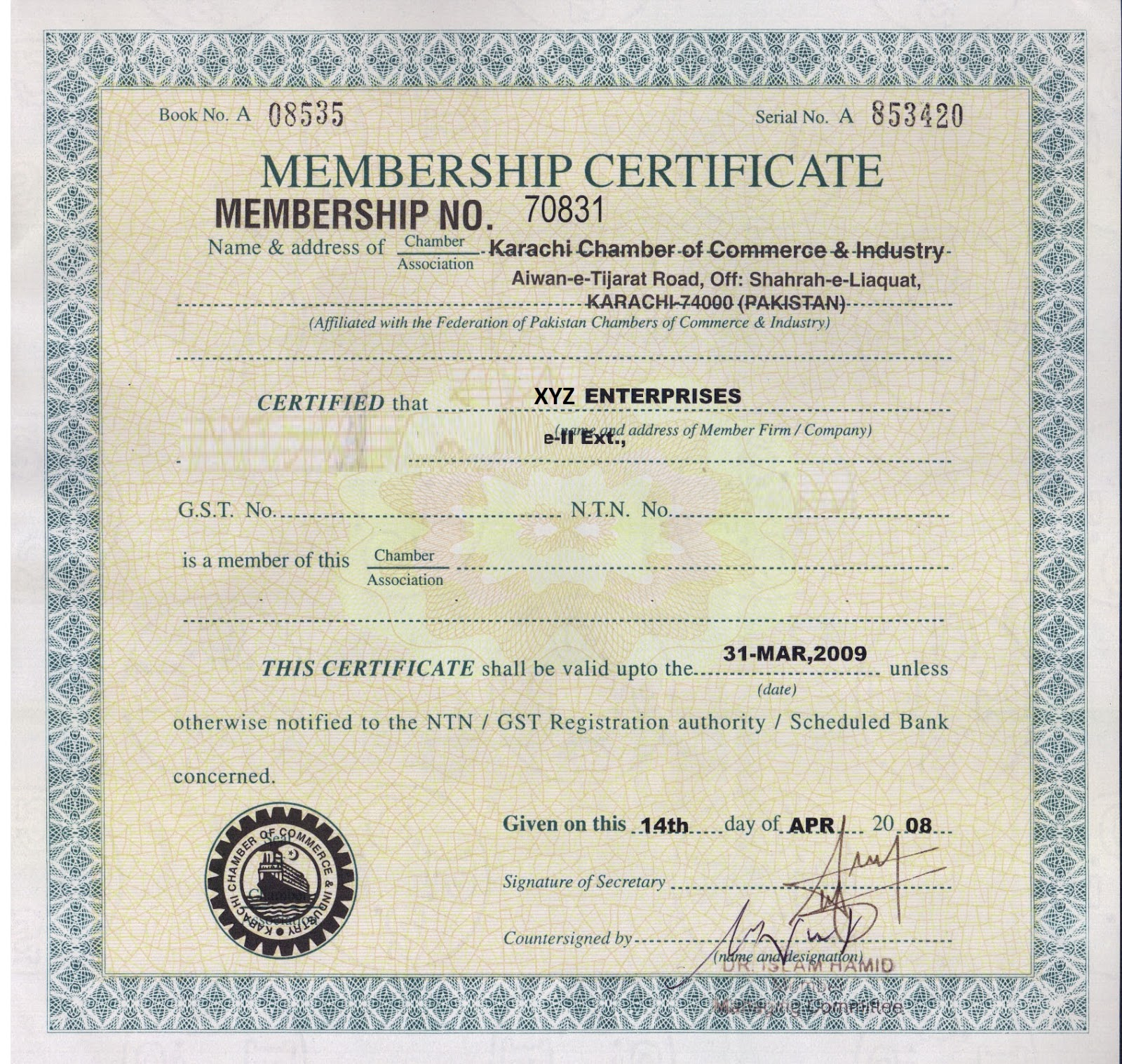 Arif ahmad how to apply for turkey turkish visa from pakistan ntn certificate yelopaper Image collections