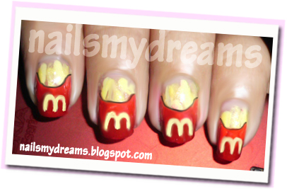 nails dreams french fry