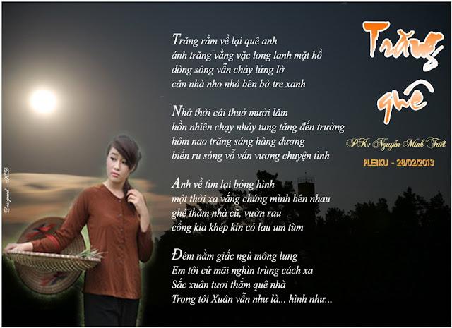 Trăng quê- Minh Triết
