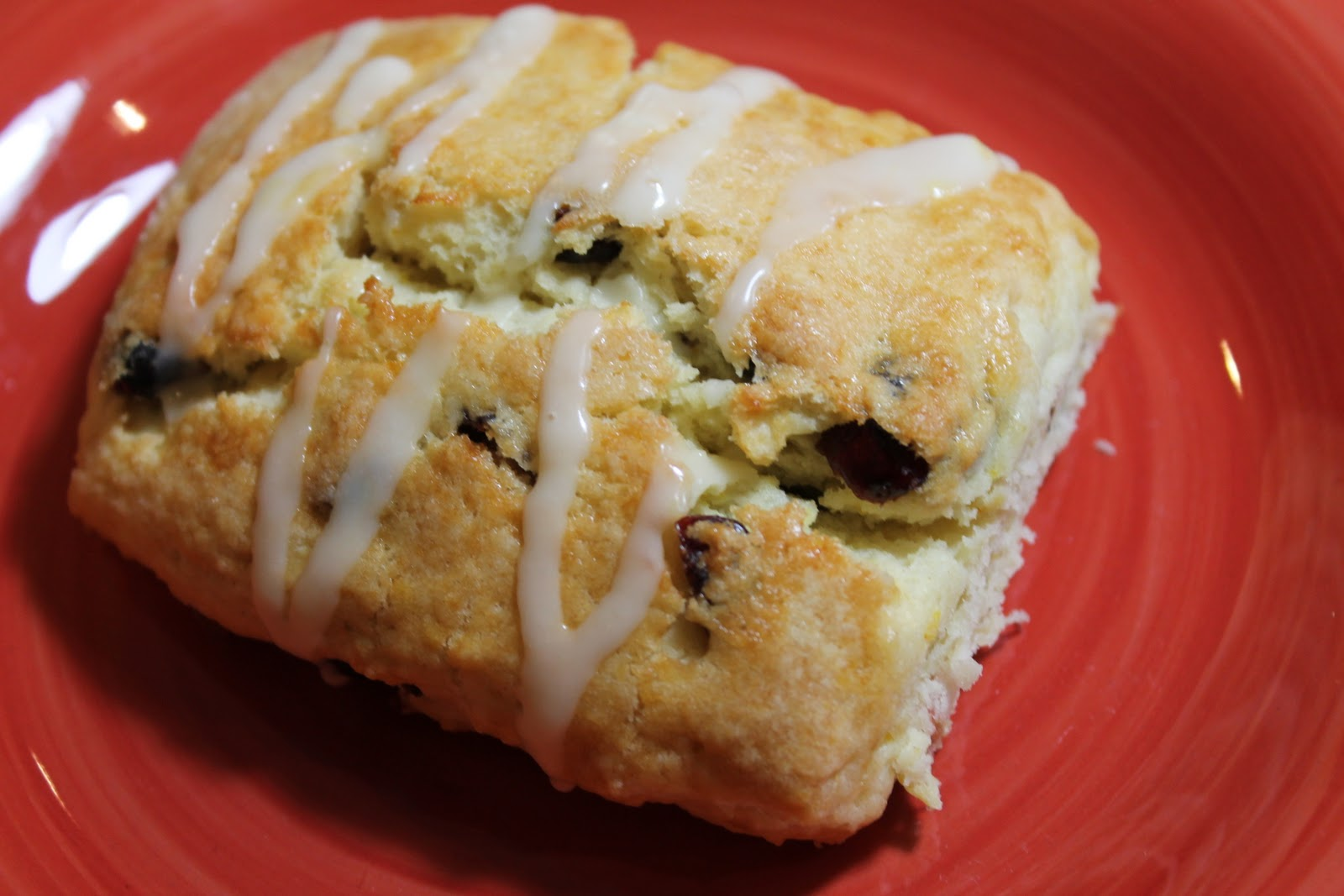Cranberry Orange Scones Recipe — Dishmaps