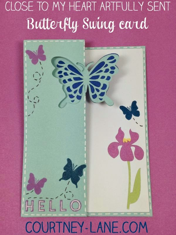 butterfly swing card